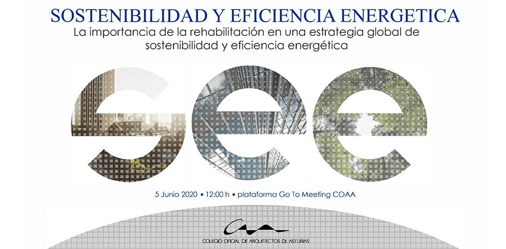 Vídeo jornada Sostenibilidad y Eficiencia Energética organizada por el  de COA Asturias