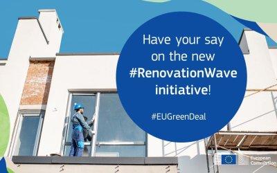 """Consulta pública iniciativa """"Renovation Wave"""" de rehabilitación edificatoria en la UE"""