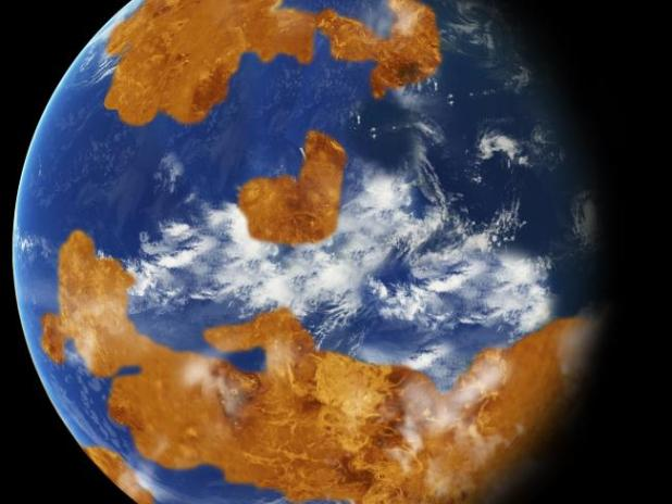 What Venus may have once looked like. Picture: NASASource:Supplied