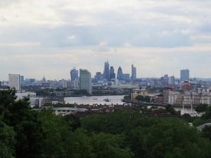 Londres vista de Greenwich