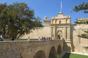Entrada de Mdina, Malta