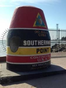 O ponto mais sul dos Estados Unidos