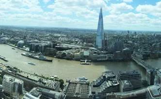 vista do Sky Garden (Londres)