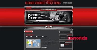 Chrome – GT Blogger Teması