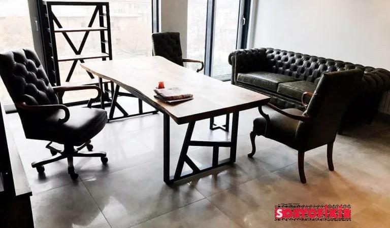 Modern Ofis Mobilyalarının Yeni Trendi Sehpalar