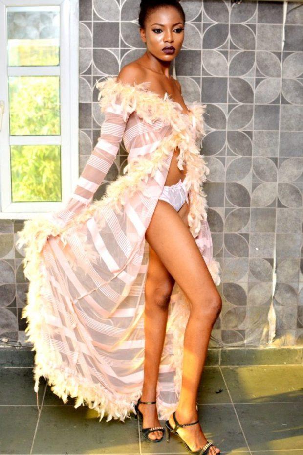 lingerie catwalk