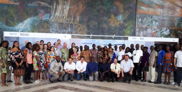 Exhibitors and Organisers of Czech days in Ghana