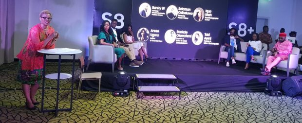 Adesuwa Onyenokwe, Arese Ugwu, Solomon, Miss Techy, Banky W, Iquo Ukoh and Tech Cabal
