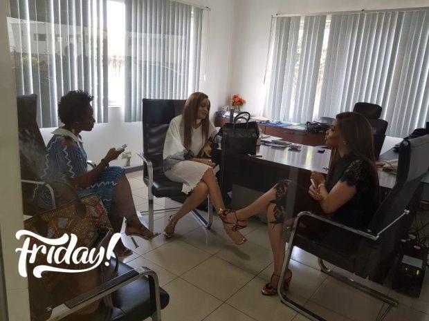 Deola Adebiyi, Ezinne Alfa and Nnenna Okoye