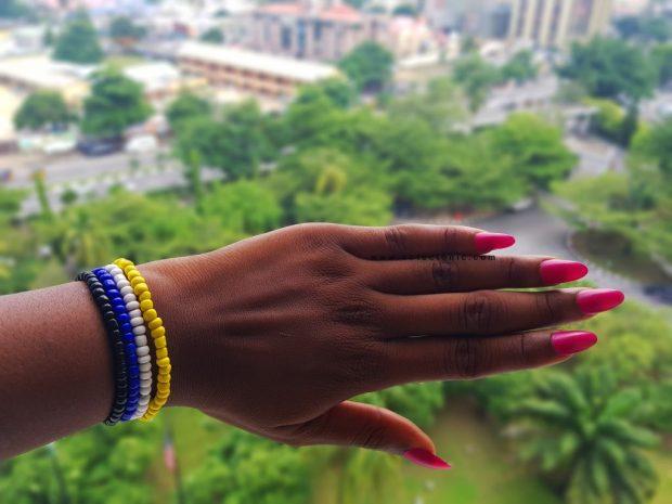 mattee nail polish by YSL