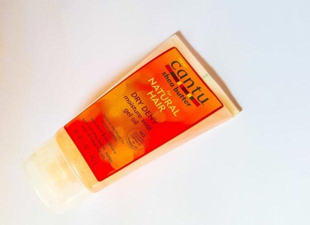 Cantu Dry Deny moisture seal gel oil