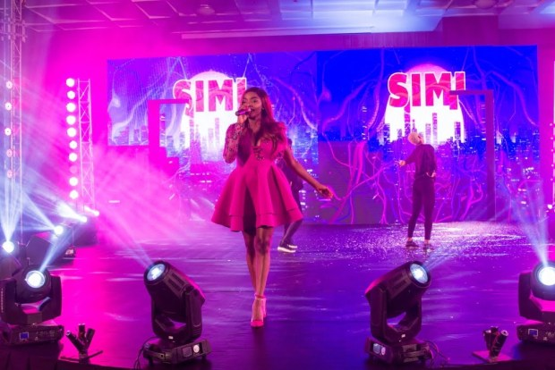 Simi at Darling relaunch