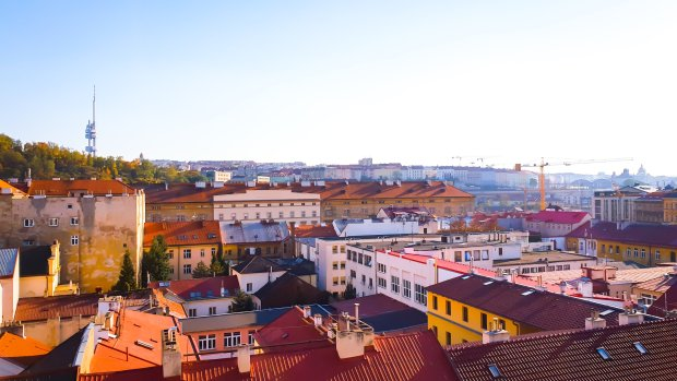apartment view of Prague