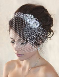 Birdcage Veil | Photo Credit
