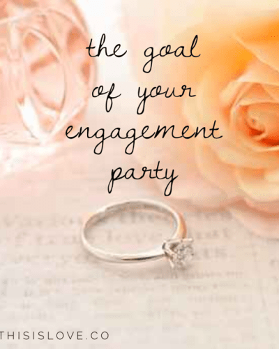 Throwing an Engagement Party