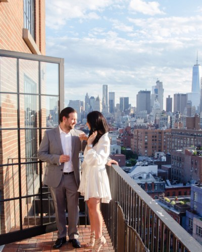 Rojika & Ilan's New York City Rooftop Wedding