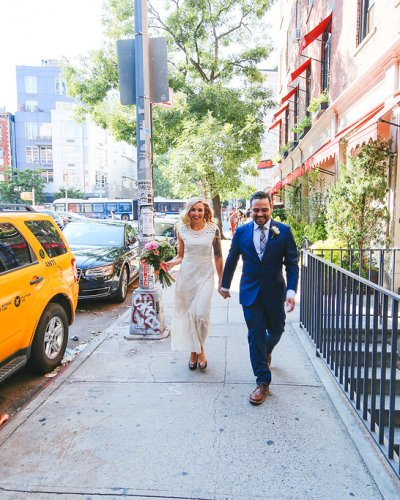 Melissa & Arran's NYC Wedding at The Pavillion