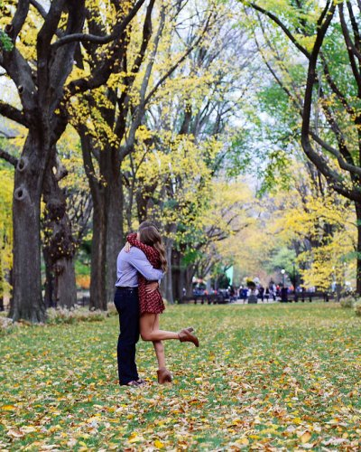 Heather & Nathan's Surprise Central Park Proposal