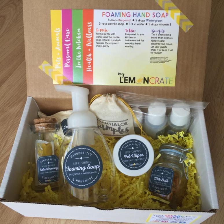 My Lemon Crate Subscription Box