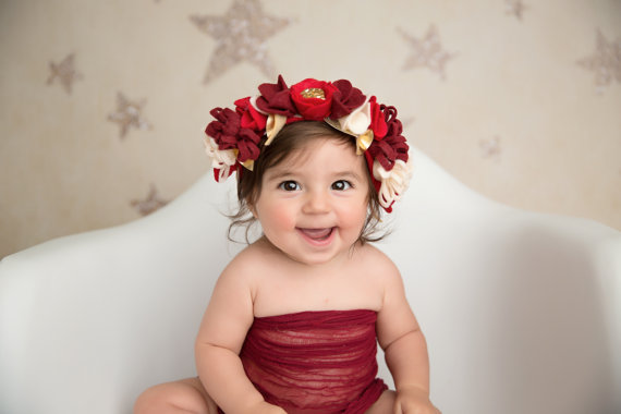 baby flower crown