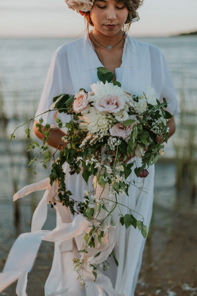 Boho Beach Wedding Bouquet