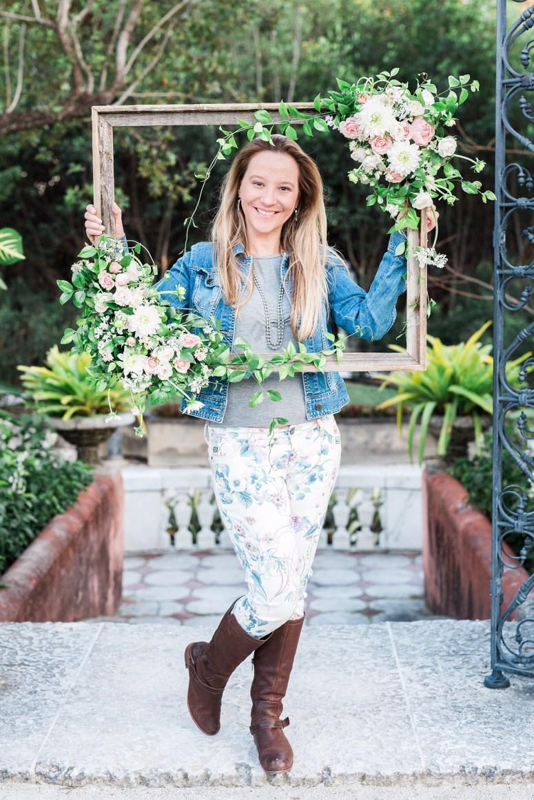 Floral Frame | Wedding Flowers | Flowery Studio | Fort Lauderdale Florist