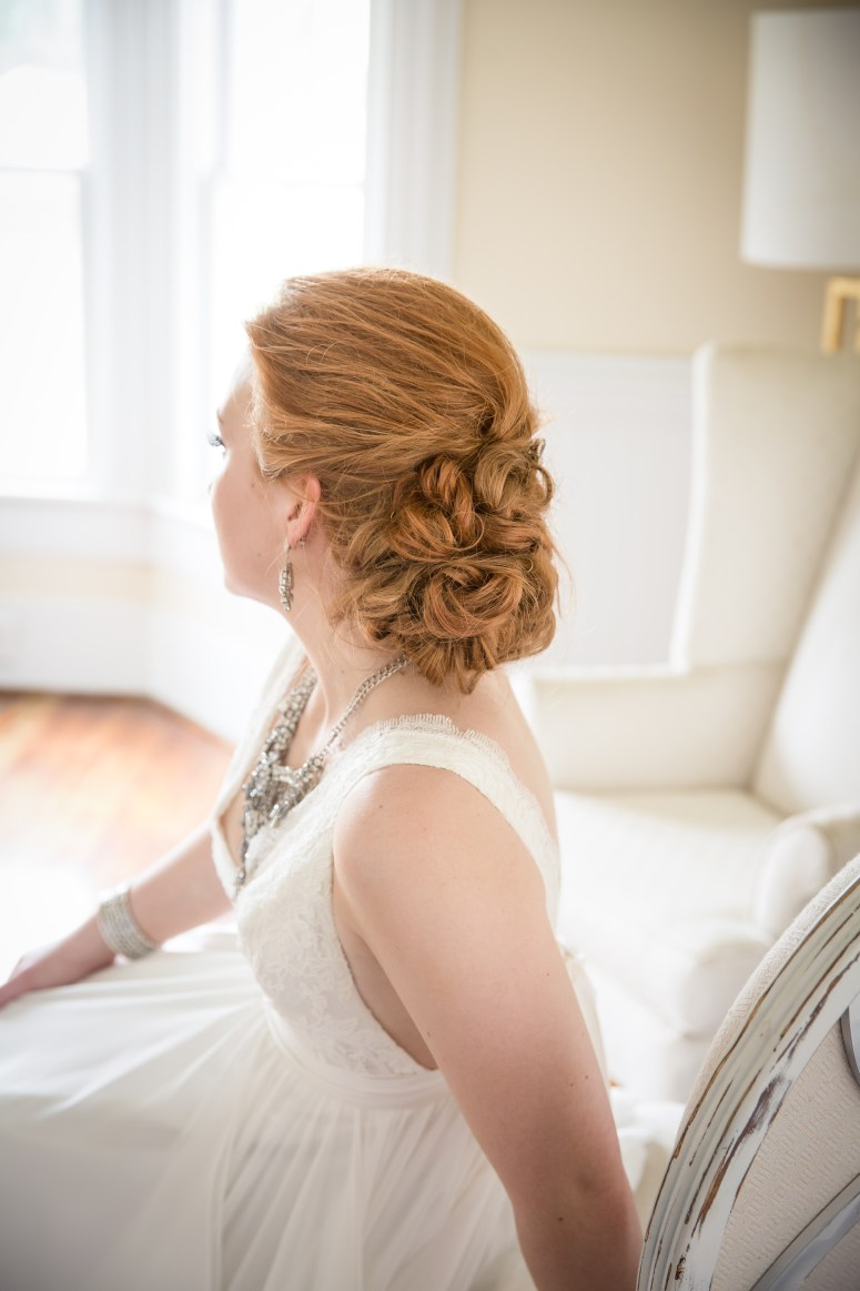 Bridal Hairstyle Low