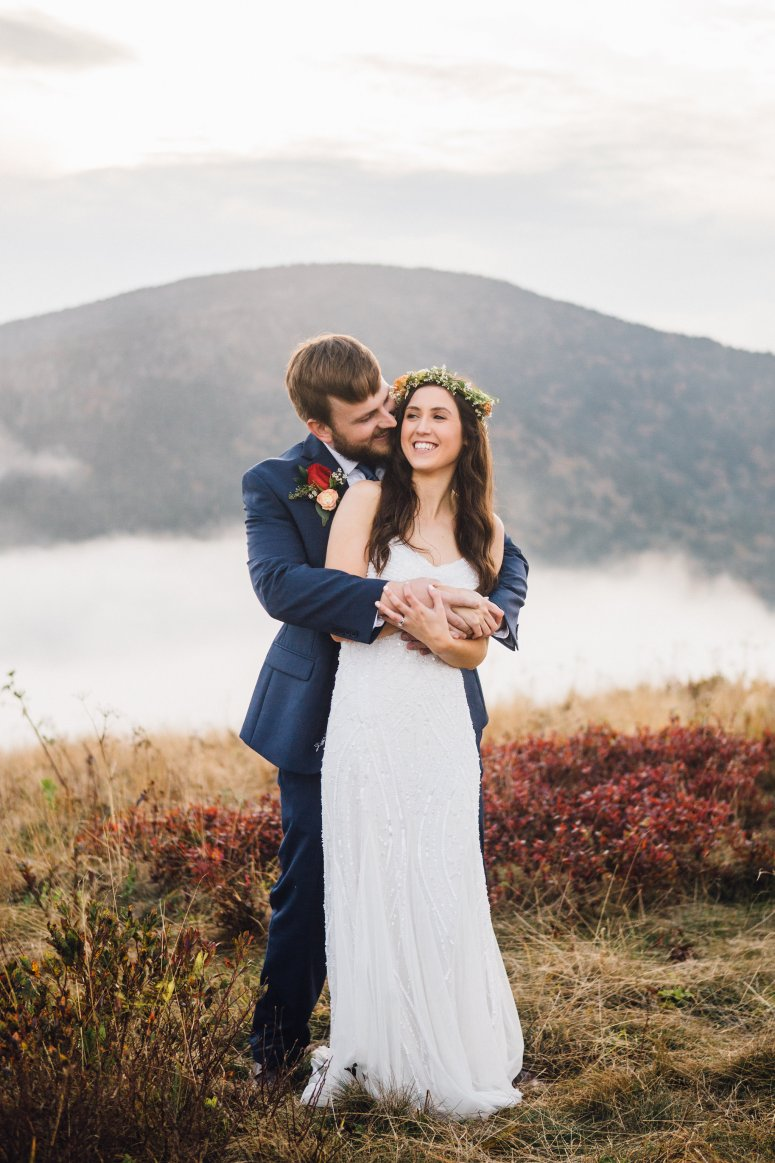 Tennessee Wedding on Roan Mountain