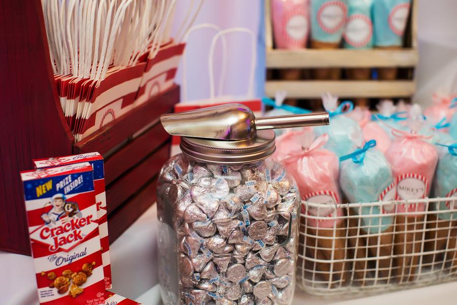 1950s themed candy bar