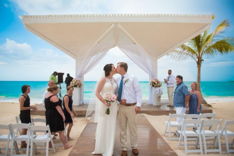 A destination wedding in Montego Bay