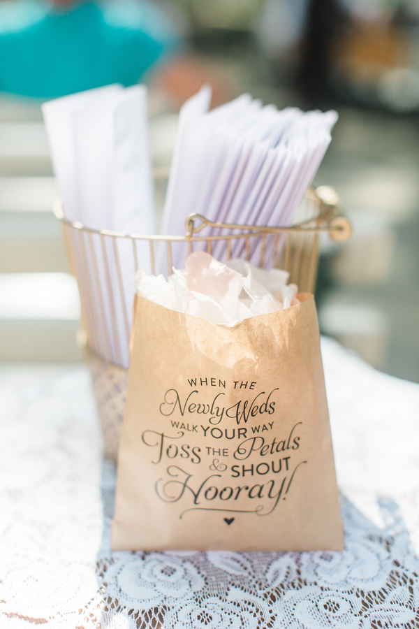 Petal Toss Ideas at Wedding