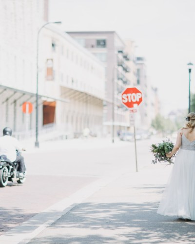 A Sweet & Intimate Wedding at the Aster Cafe in Minneapolis, MN