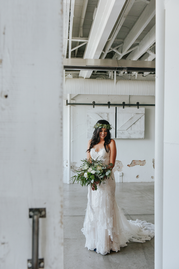 Rustic Chic Bridal Portrait