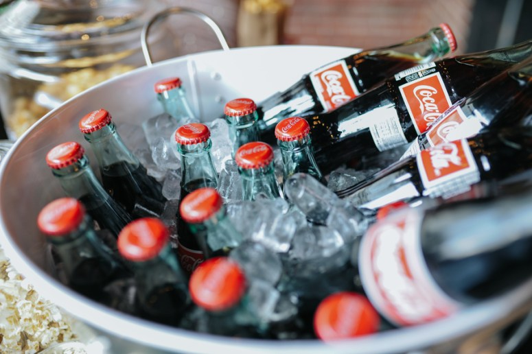 Coca Cola Bucket at Wedding