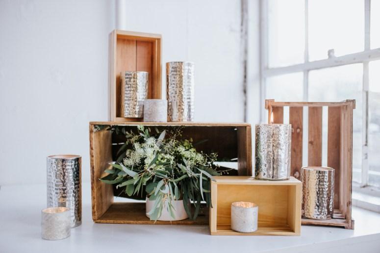 Rustic Chic Wedding Table Decor
