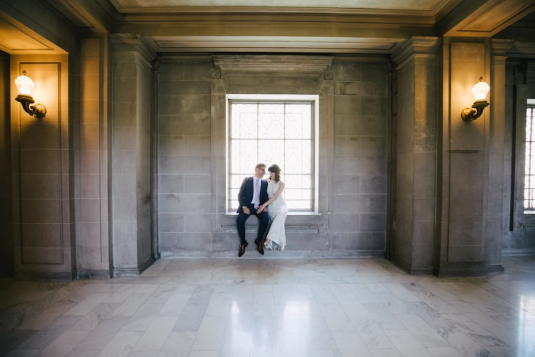 City Hall Wedding in San Francisco