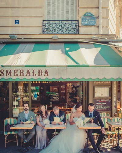 An Elegant Paris Elopement
