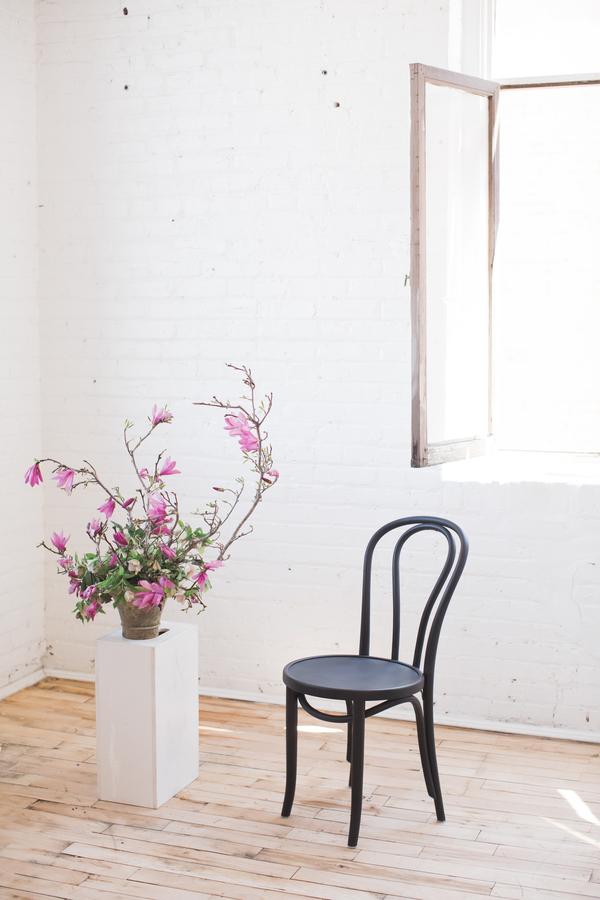 minimalist themed styled wedding photo shoot