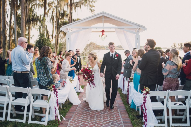 intimate orlando wedding ceremony