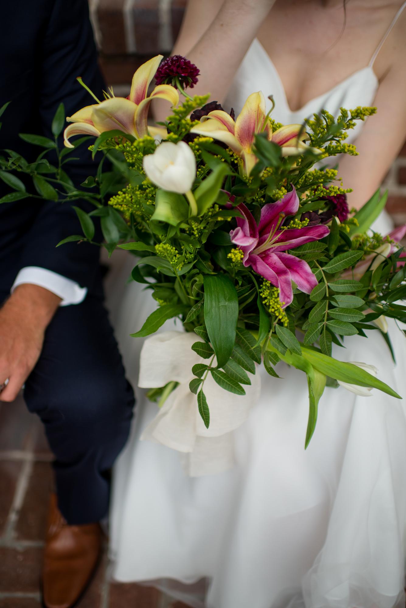 Flower and Fringe Floral Design