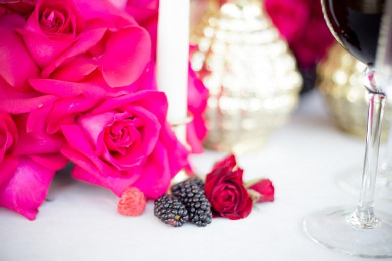hot pink roses for wedding, pink wedding flowers, pink flowers for wedding