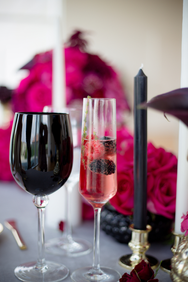 pink and black wedding, pink and black wedding decor, pink champagne, ohio wedding, ohio wedding ideas