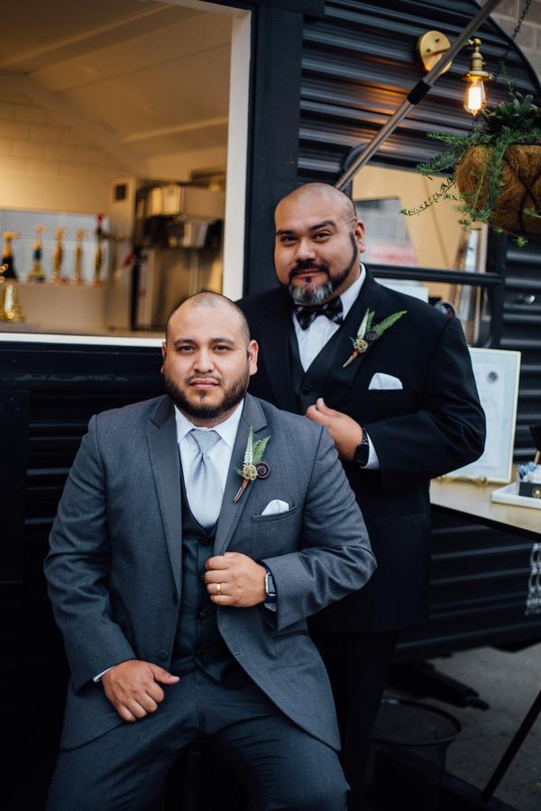 gay wedding portrait ideas