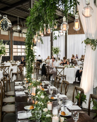 A Rooftop Wedding at The Michigan Opera Theatre Detroit Opera House