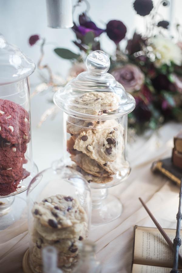 Harry Potter Wedding, Cookie Station at Wedding, Desert Station