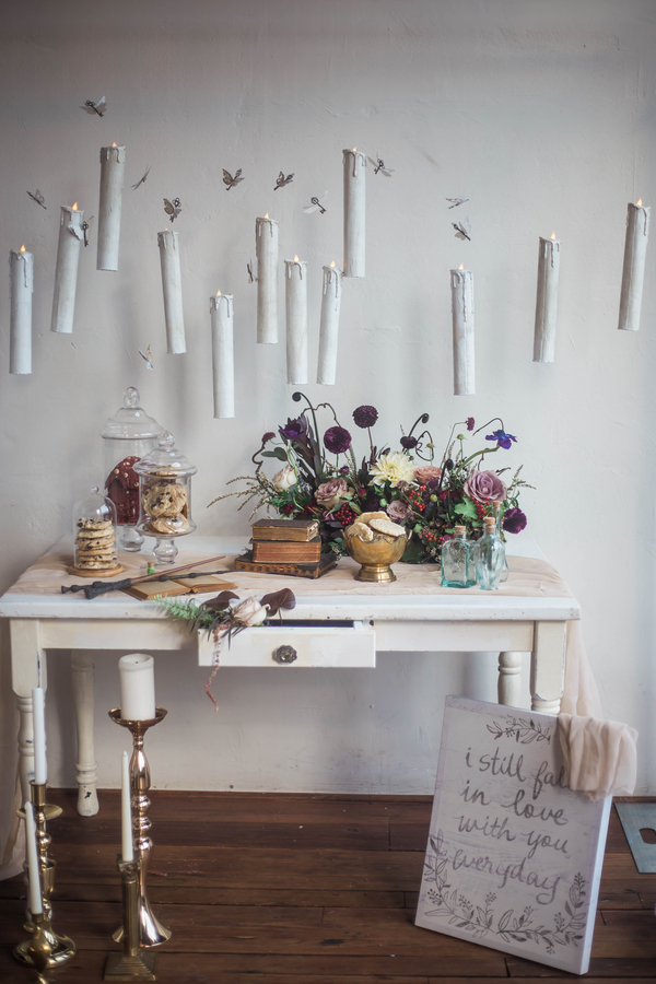 Harry Potter Wedding, Floating Candles at Wedding
