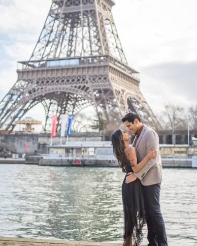 Engagement Photo Shoot in Paris by the Eiffel Tower