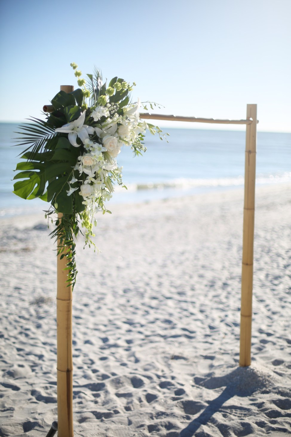 Wedding Arbor for Beach Wedding