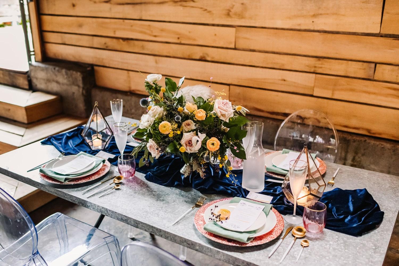 Loflin Yard Wedding, Memphis Wedding, Rock and Roll Bride, Modern Wedding, intimate wedding reception