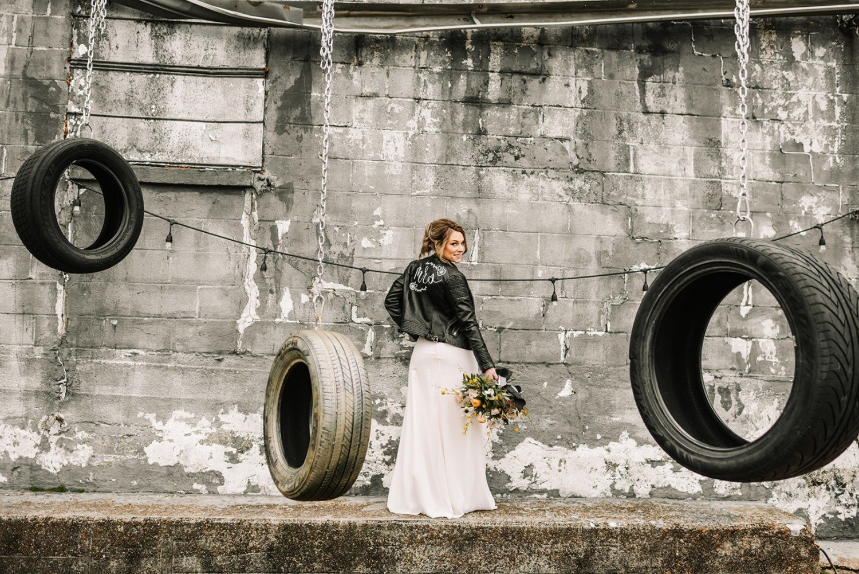 Loflin Yard Wedding, Memphis Wedding, Rock and Roll Bride, Modern Wedding, industrial wedding